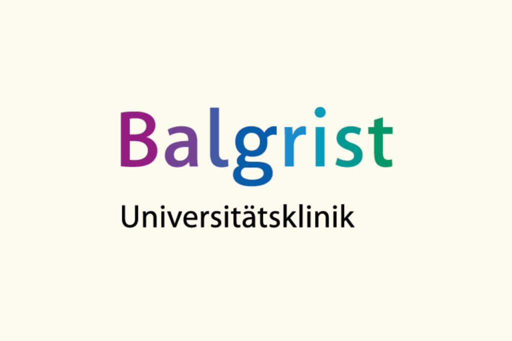 ISC Referenzen, Logo Balgrist Universitätsklinik
