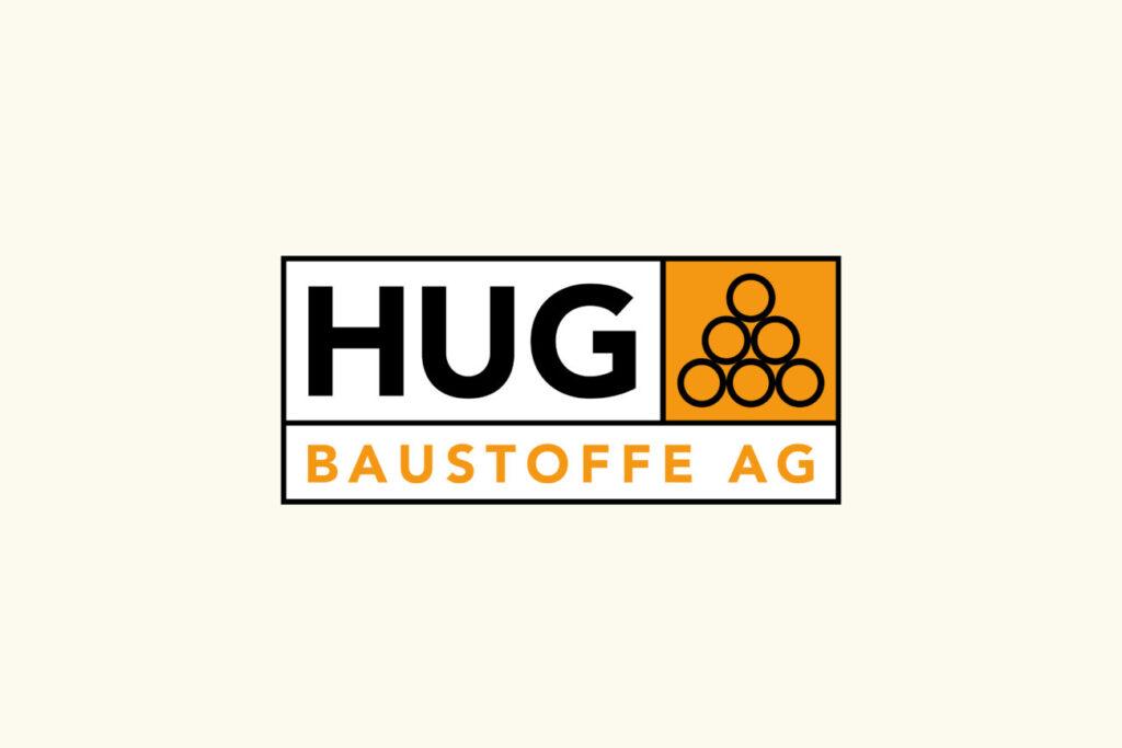 ISC Referenzen, Logo Hug Baustoffe AG