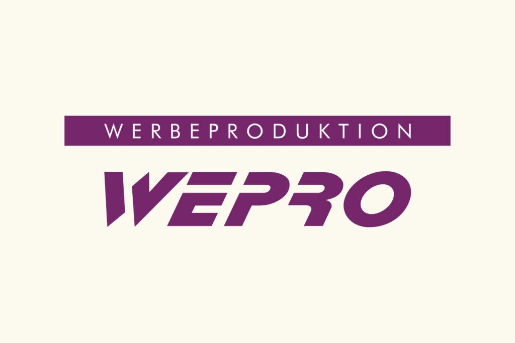 ISC Referenzen, Logo Werbeproduktion WEPRO